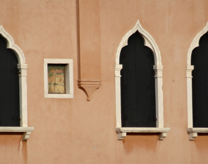 characteristic Venice windows